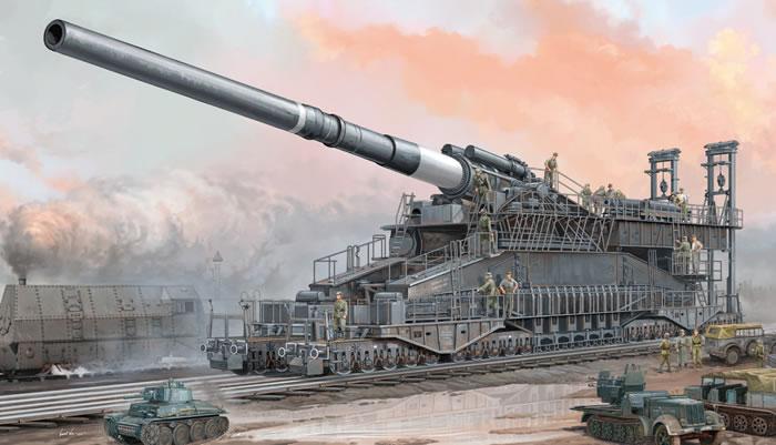 80cm超列車砲ドーラ
