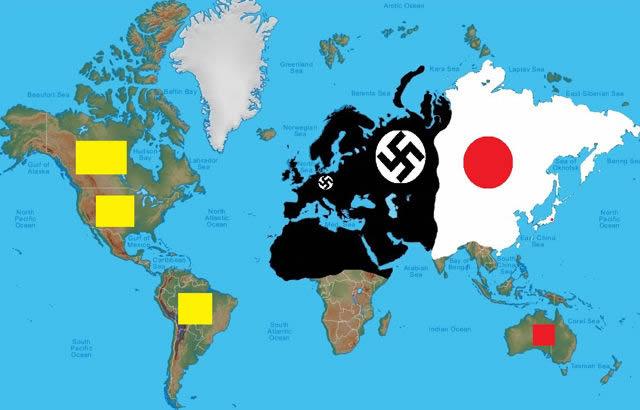 もしもの世界地図