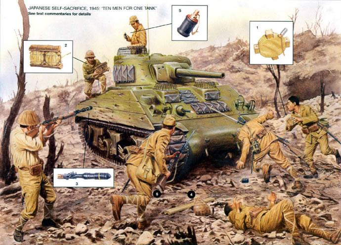 対戦車戦闘 日本軍