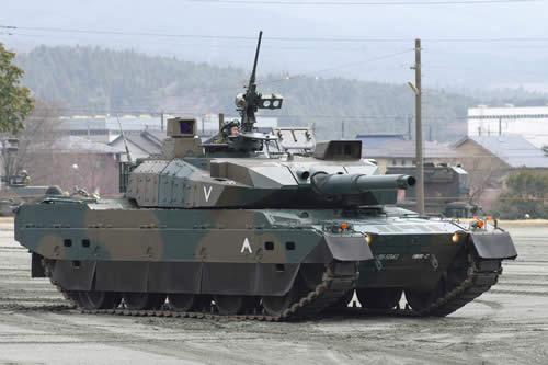 自衛隊 10式戦車