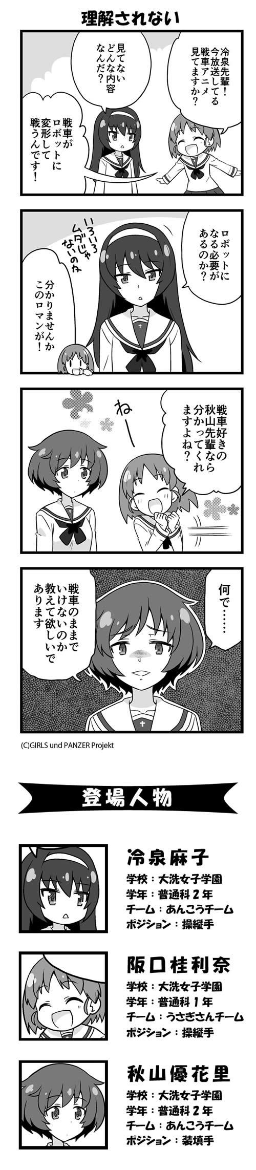 GuP漫画