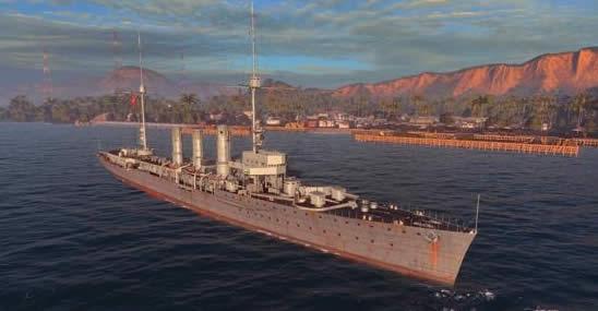 ドイツ巡洋艦 カールスルーエ