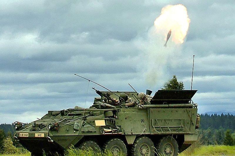M1129 Mortar Carrier (SPM)