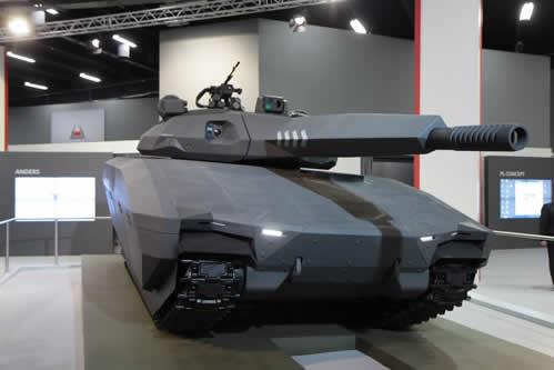 ポーランド戦車 PL-01 展示