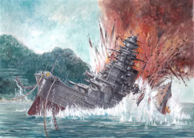 WoWS 爆沈
