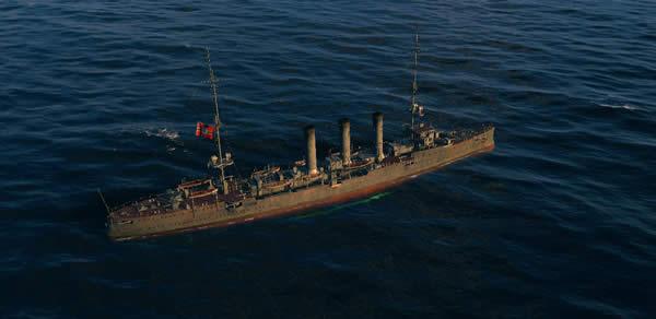 巡洋艦ドレスデン