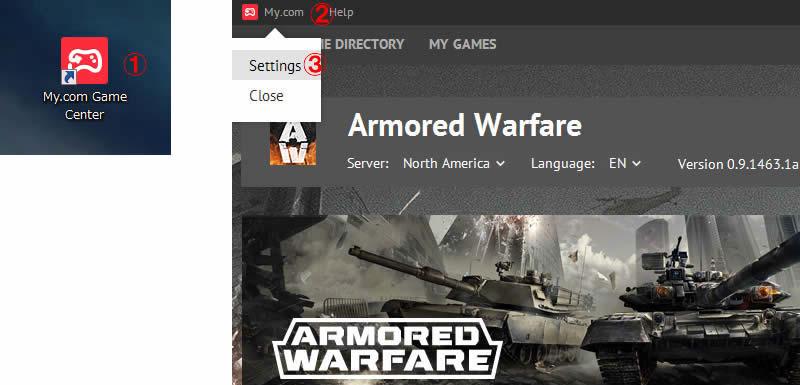 Armored Warfare P2Pのアップロードを止める手順1-3