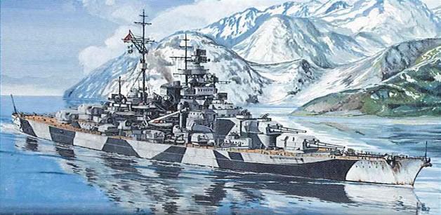 ドイツ戦艦 ティルピッツ