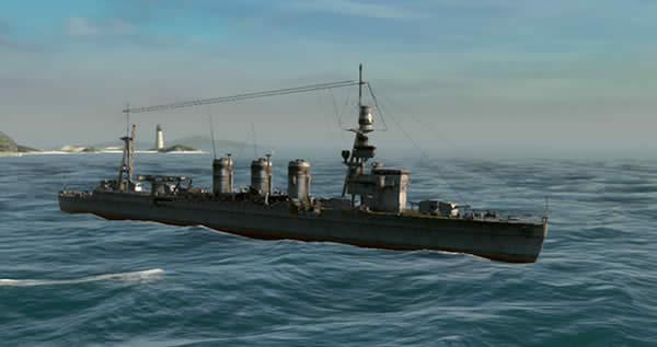 Steel Ocean 軽巡 球磨