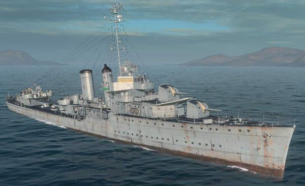 WoWS アメリカ駆逐艦 ファラガット
