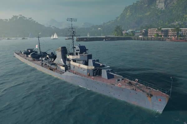 ソ連駆逐艦グネフヌイ