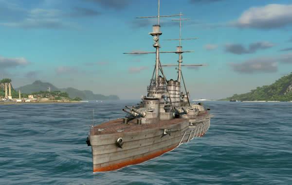 Steel Ocean 戦艦河内