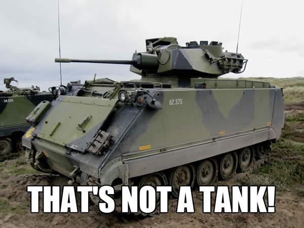 WoTvsAF THAT'S NOT A TANK!