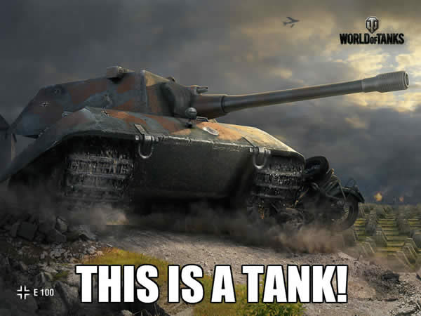 WoTvsAF THIS IS A TANK!