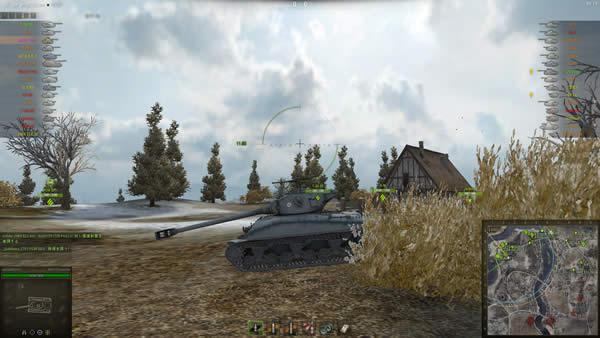 WoT M4A1 Revalorisé スーパーシャーマン 03
