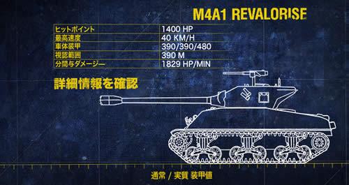 WoT M4A1 Revalorisé スーパーシャーマン 嘘装甲