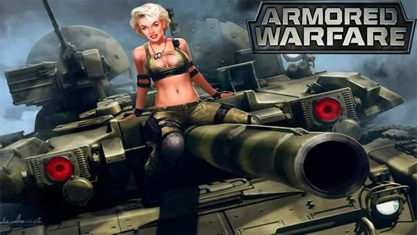 Armored Warfare ロゴ