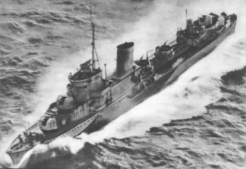 ポーランド 駆逐艦 ブリスカヴィカ