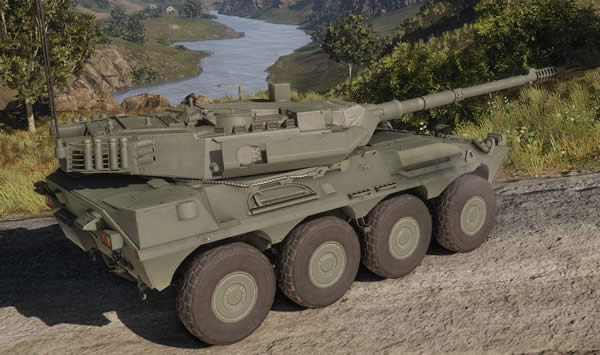 Armored Warfare チェンタウロ