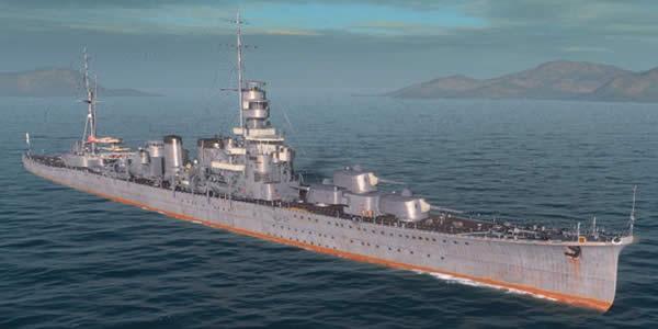 WoWS 巡洋艦 古鷹
