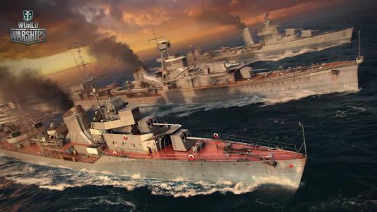 WoWS 駆逐艦
