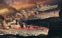 WoWS 駆逐艦 サムネイル
