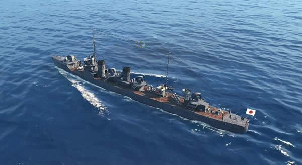 WoWS 駆逐艦 峯風