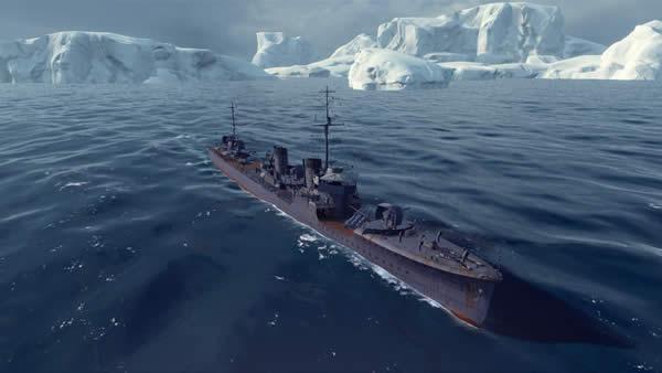 WoWS 駆逐艦睦月