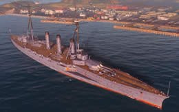 WoWS 戦艦妙義 サムネイル