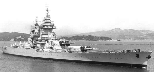 フランス戦艦 リシュリュー