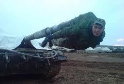 戦車砲カバーの人