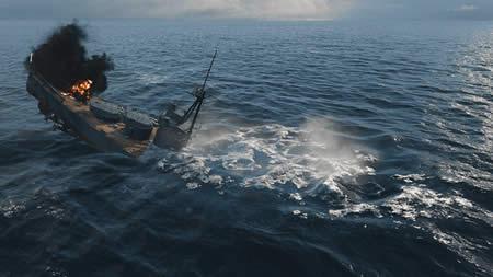 WoWS 沈む戦艦