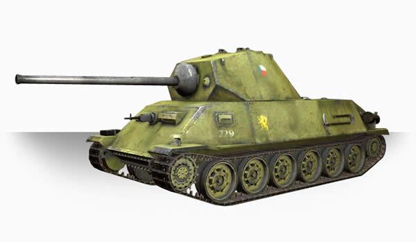 シュコダT25 チェコ中戦車