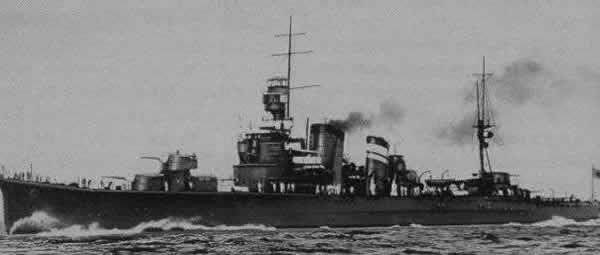 日本 重巡洋艦 古鷹 単装砲
