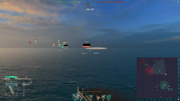 WoWS 新モード 空母救出2