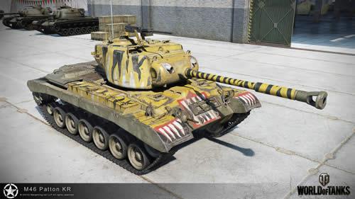WoT M46 Patton KR コリアンパットン 001