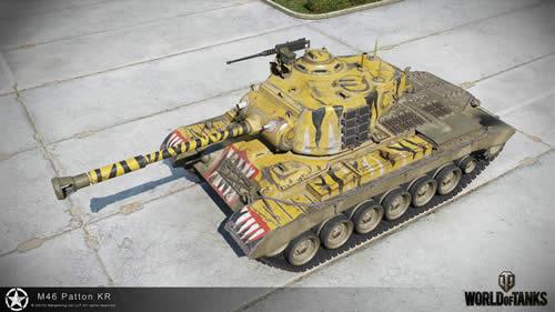 WoT M46 Patton KR コリアンパットン 003