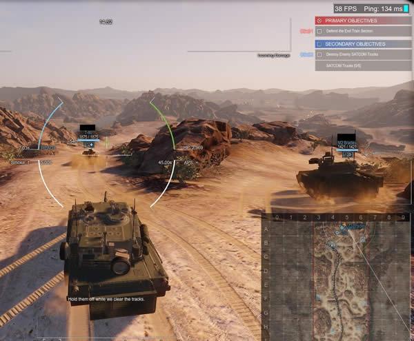 Armored Warfare Onyxのセカンダリー目標