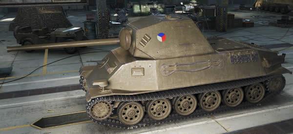 WoT チェコ Tier6 中戦車 Skoda T25