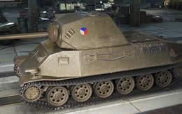 WoT チェコ Tier6 中戦車 Skoda T25 サムネイル