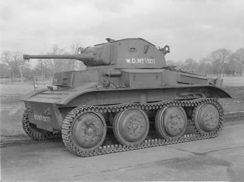 イギリス軽戦車 テトラーク