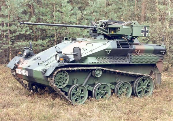 Wiesel ヴィーゼル (空挺戦闘車)