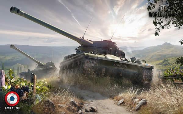 WoT フランス 軽戦車 AMX 13 90