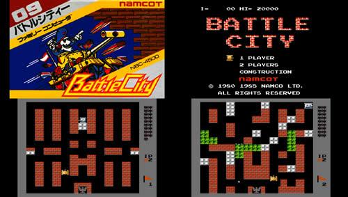 ファミコン 戦車ゲーム バトルシティ Battle City