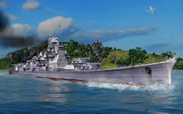 WoWS 巡洋艦 サムネイル
