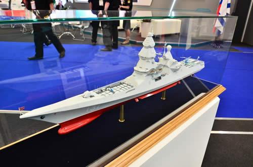 ロシア 駆逐艦プロジェクト23560E「シクヴァル」