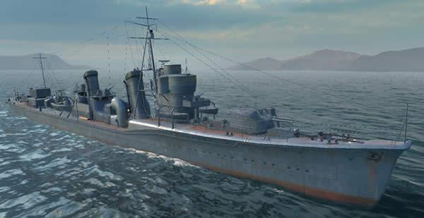 WoWS 日本駆逐艦吹雪