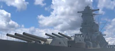 CG 戦艦武蔵 46cm砲