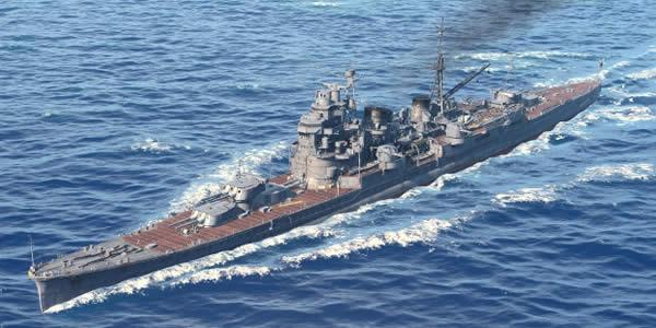 WoWS 巡洋艦 妙高