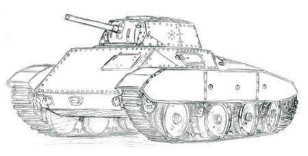 イタリア戦車 サハリアーノ